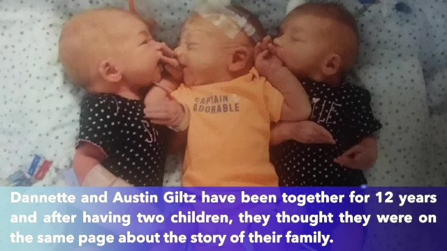 South Dakota woman thought she had kidney stones, gave birth to triplets