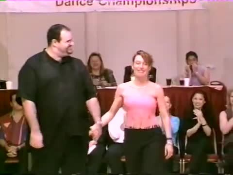 Swing dancer looks overweight only doesn't stop showstopping routine from winning the internet 2