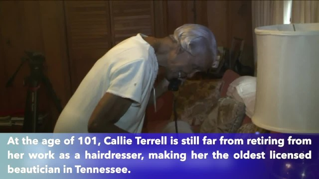 Tennessee's oldest beautician keeps working as she celebrates 101st birthday