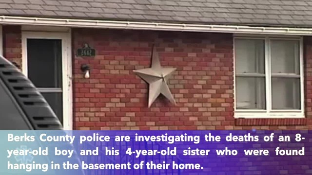 Siblings found hanging in basement of family home in Pennsylvania