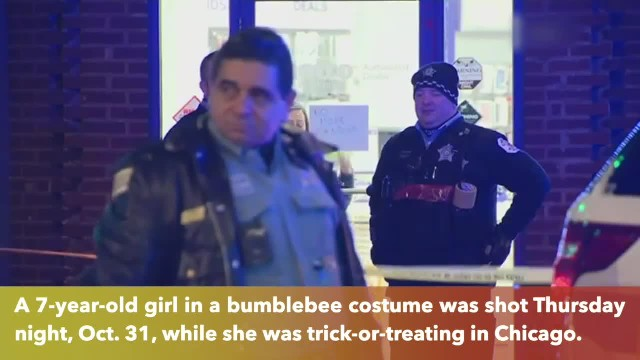 7-year-old girl shot in Chicago while she was trick-or-treating