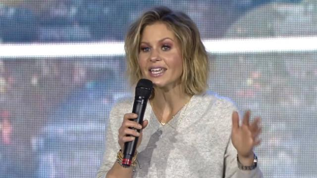Candace Cameron Bure explains sin, God's righteousness in 30 seconds