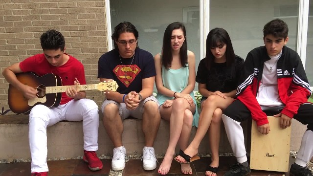 5 siblings sing beautiful cover of 'You Say' from Lauren Daigle