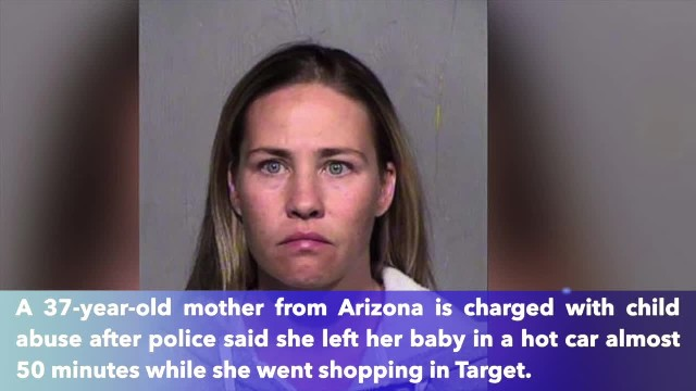 Arizona mother who left 5-month-old in hot car tells police she just 'forgot'