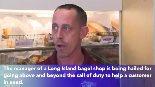 Long Island bagel shop manager drives 7 hours to return customer something left behind