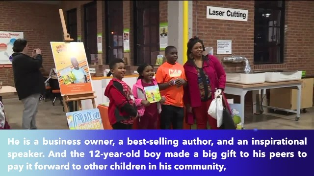 Twelve-year-old St. Louis business owner donates $10,000 in clothing to other children