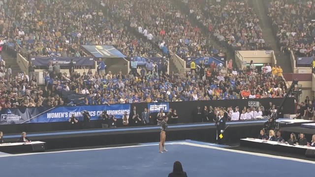 McKenna Kelley (LSU) Floor 2019 NCAA Championships Final Four 9.95 2