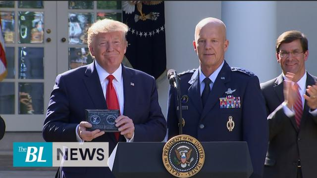 The Ultimate High Ground-President Trump officially launches US Space Command