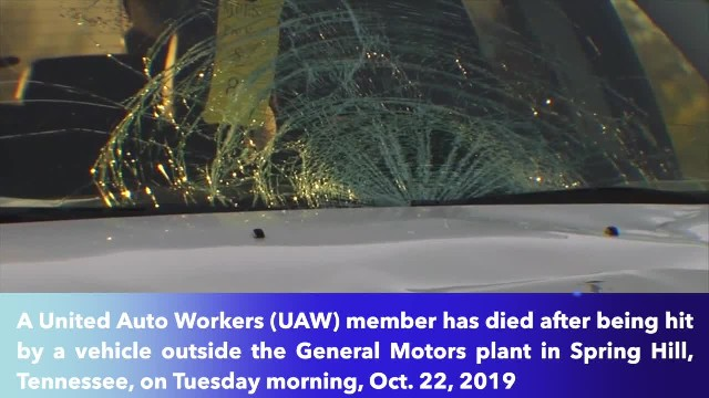 UAW member struck by car, killed on picket line at Tennessee GM plant