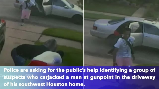 Man carjacked at gunpoint in SW Houston, police searching for suspects