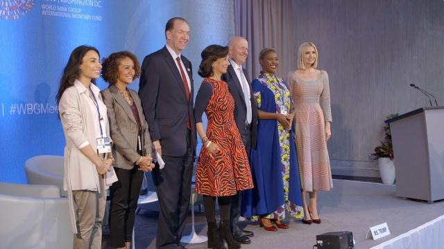 Ivanka Trump at the 2019 World Bank Annual Meeting