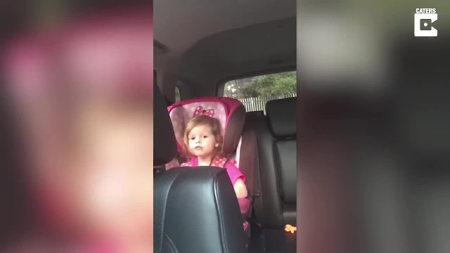 """ An Adorable Three Year Old Girl Belts Out the Lyrics to 'Bohemian Rhapsody' While Sitting in Her C"