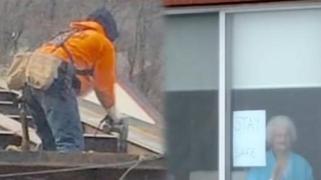 Construction worker sent note to granny, her response blew him away