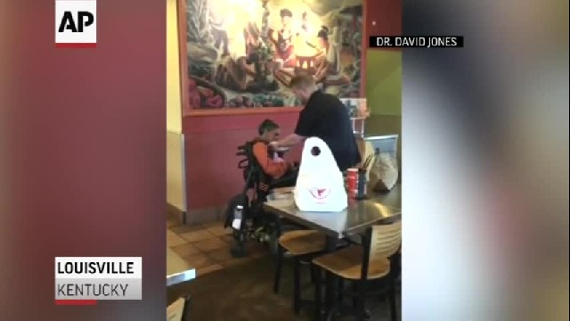 Worker Praised for Feeding Disabled Customer