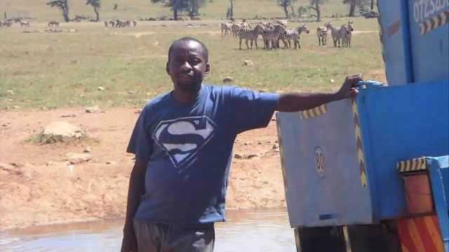 Meet The 'Water Man' Who Drives For Hours And Deliver Truckload Of Water To Thirsty Animals