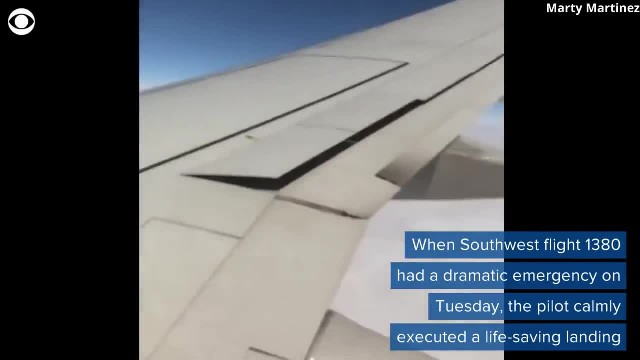'Nerves of steel': She calmly landed the Southwest flight, just as you'd expect of a former fighter