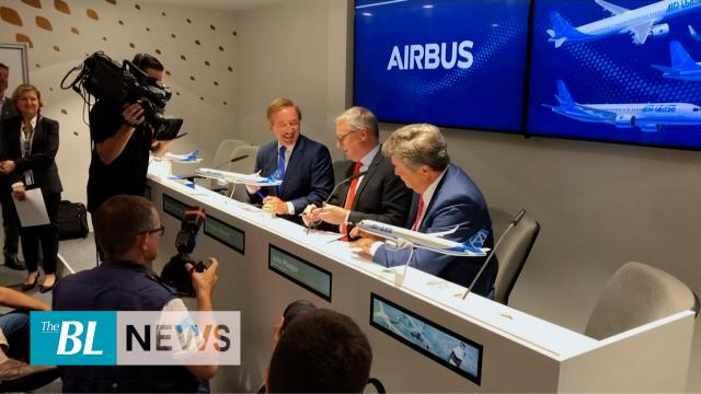 Airbus unveils longest single-aisle plane, ready by 2023