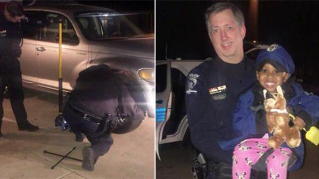 Struggling single mom had no one to turn to, so kind police step in to help