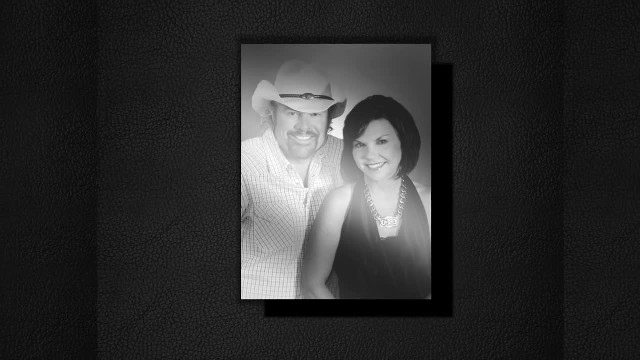""" A photographic look at Toby Keith & Trica Covel's inspiring love story"""