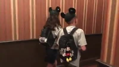 Foster Parents Enlist The Help Of Mickey Mouse To Tell These Two Children Some Very Exciting News