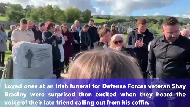 Funeral disrupted by dead man 'knocking' and 'screaming' from inside coffin