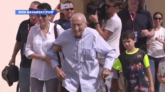 World War II Vet Reunites With Man he Saved From Concentration Camp