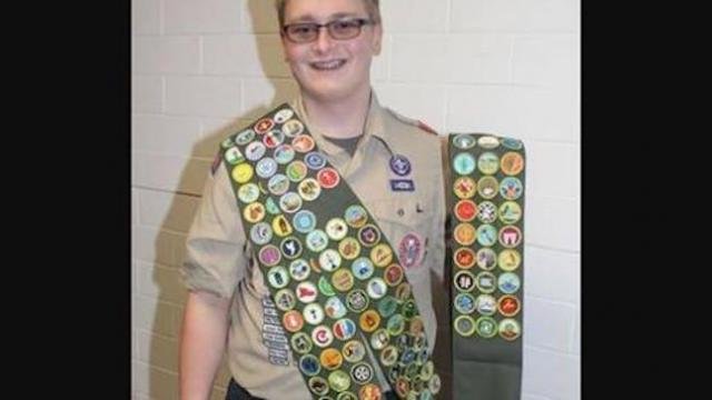 Here's how this Eagle Scout became one of the only people in history to earn all 137 badges