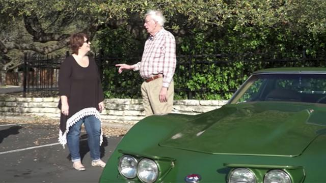 Dad gives up dream car to raise step kids, 40 yrs later daughter plans emotional gift.