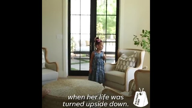 Army veteran meets the little girl he saved with his bone marrow donation