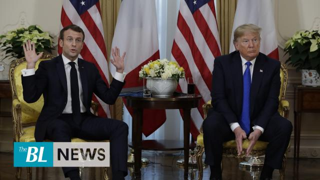 Trump Macron discuss Turkey, trade, NATO alliance
