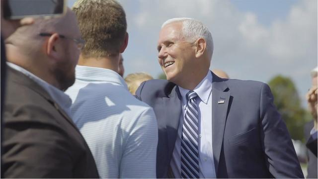 Vice President Pence Visits Eastern Kentucky