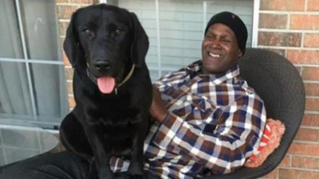 Man wrongfully imprisoned for 38 years leaves prison with puppy he raised