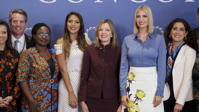 Ivanka Trump Discusses W-GDP and Women's Economic Empowerment