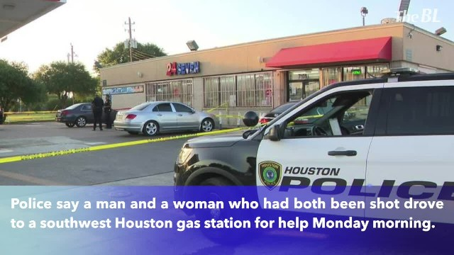 1 dead after couple drives to southwest Houston gas station for help after being shot