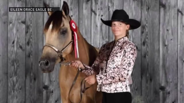 Rider in a storm- Teen rides horse through snowstorm to help stranded truck driver