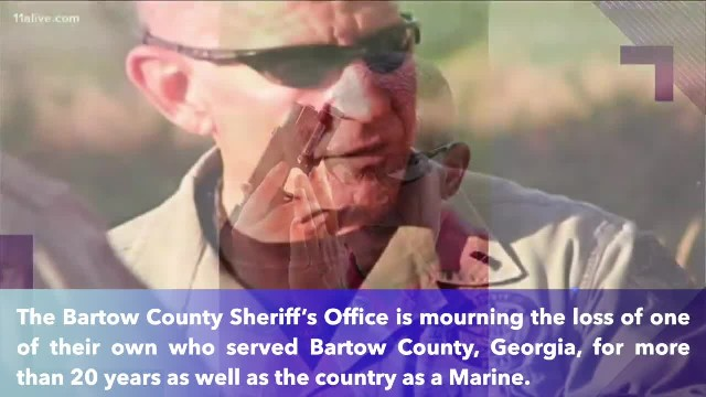 Long-time Georgia sheriff's deputy, Marine passes away following 'valiant fight' with brain cancer