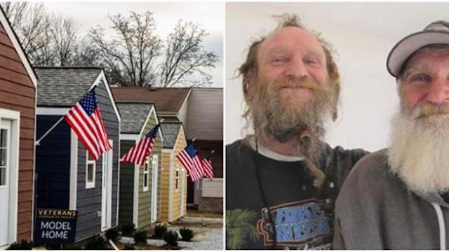 Kansas city builds tiny house village for homeless veterans
