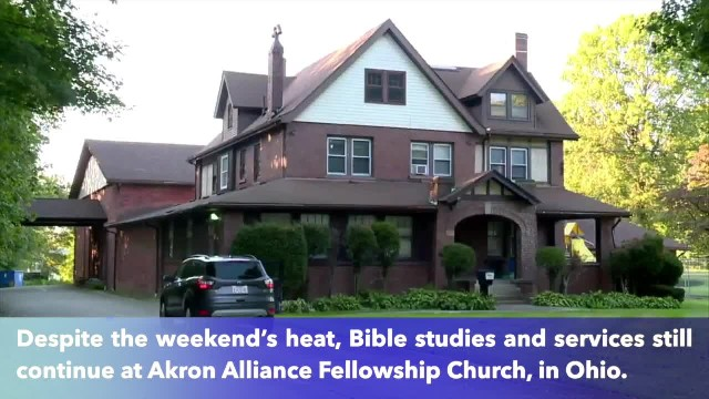 Ohio church strong message to air conditioning thieves