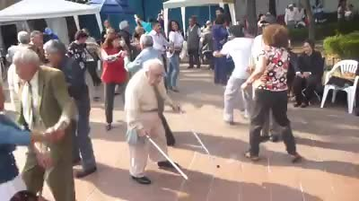 Elderly Man Surprises Everyone When He Throws Down His Canes To Bust A Move