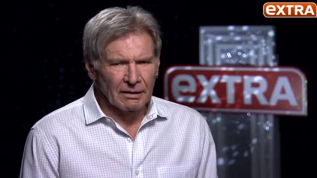Harrison Ford talks leg break on set & becoming Han Solo again