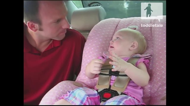 Tiny Baby Has Something To Say To Her Daddy. What She Says Has Him Laughing Out Loud!
