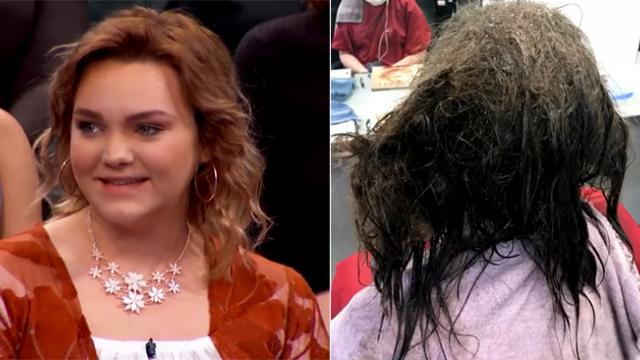 Hairstylist refuses to shave depressed teen's matted hair – Gives her makeover of a lifetime instead