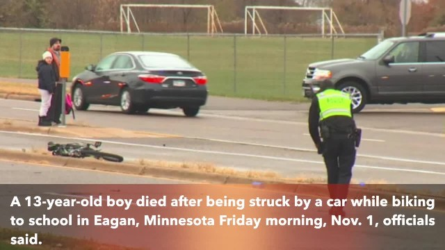 Seventh-grader struck, killed while riding bike to school in Minnesota
