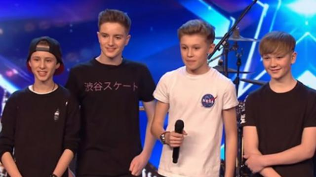 Unassuming teen boy band blows judges away with Stevie Wonder medley