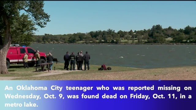 Missing Oklahoma City teen found dead in Lake Overholser