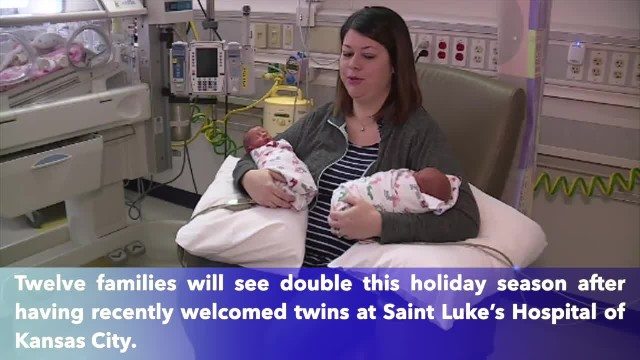 Baby boom, St. Luke's welcomes 12 sets of twins at one time, most in hospital's history