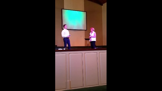 American Idol's Scotty McCreery sings a duet with his Mother at Church!