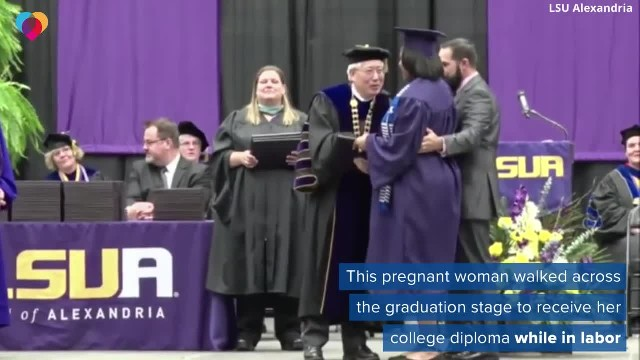 Mom Determined to Show Daughter the Importance of Education Crosses the Stage for Diploma While in A