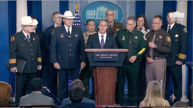 Press Briefing with Acting Director of U.S. Immigration and Customs Enforcement Matthew Albence