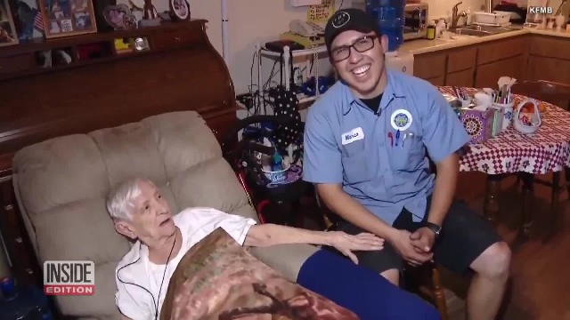 Water delivery man calls 911 after senior customer doesn't answer the door like she usually does